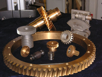 Custom Manufactured Worm Gears