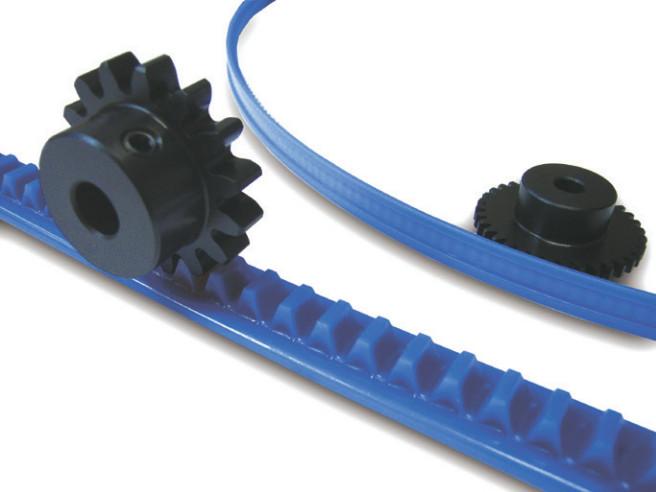Molded Flexible Gear Racks