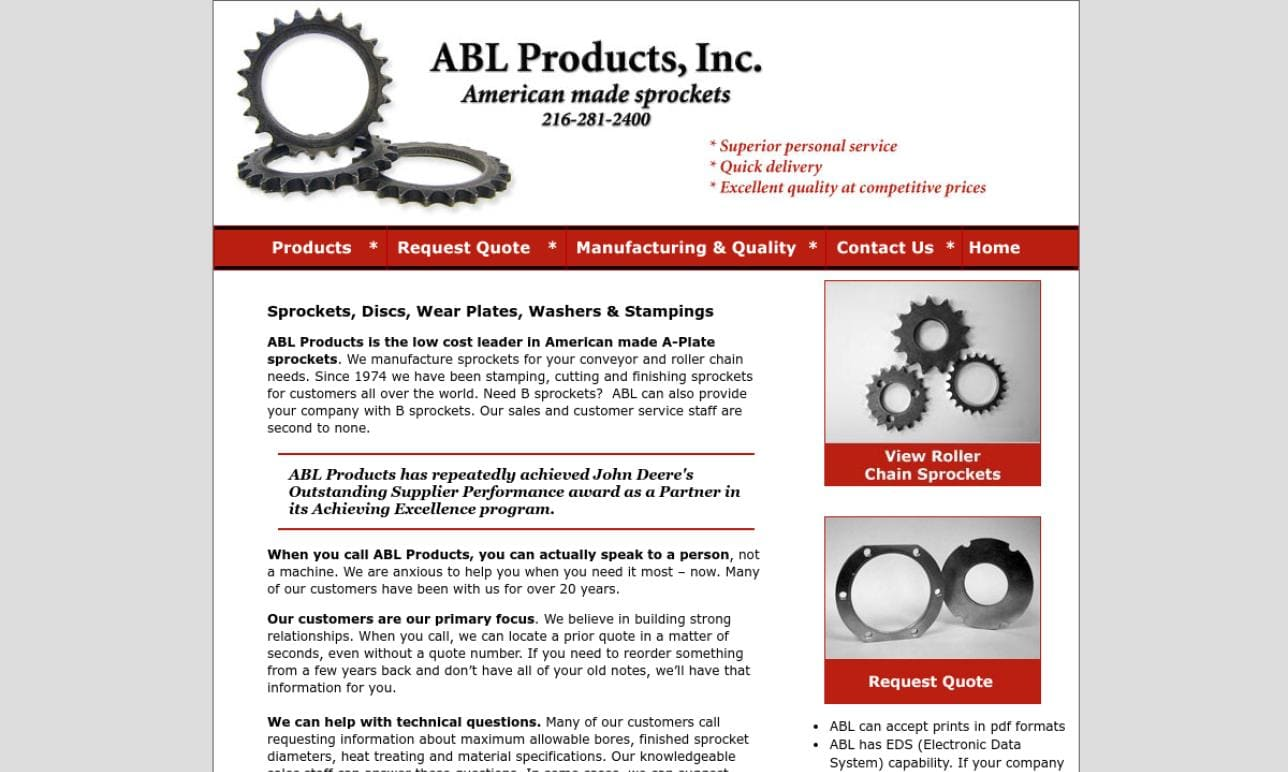 More Industrial Gear Manufacturer Listings