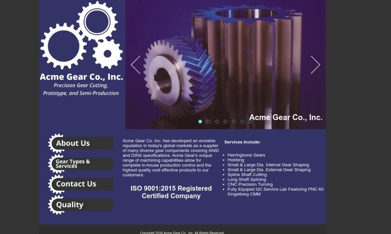 Acme Gear Company, Inc.