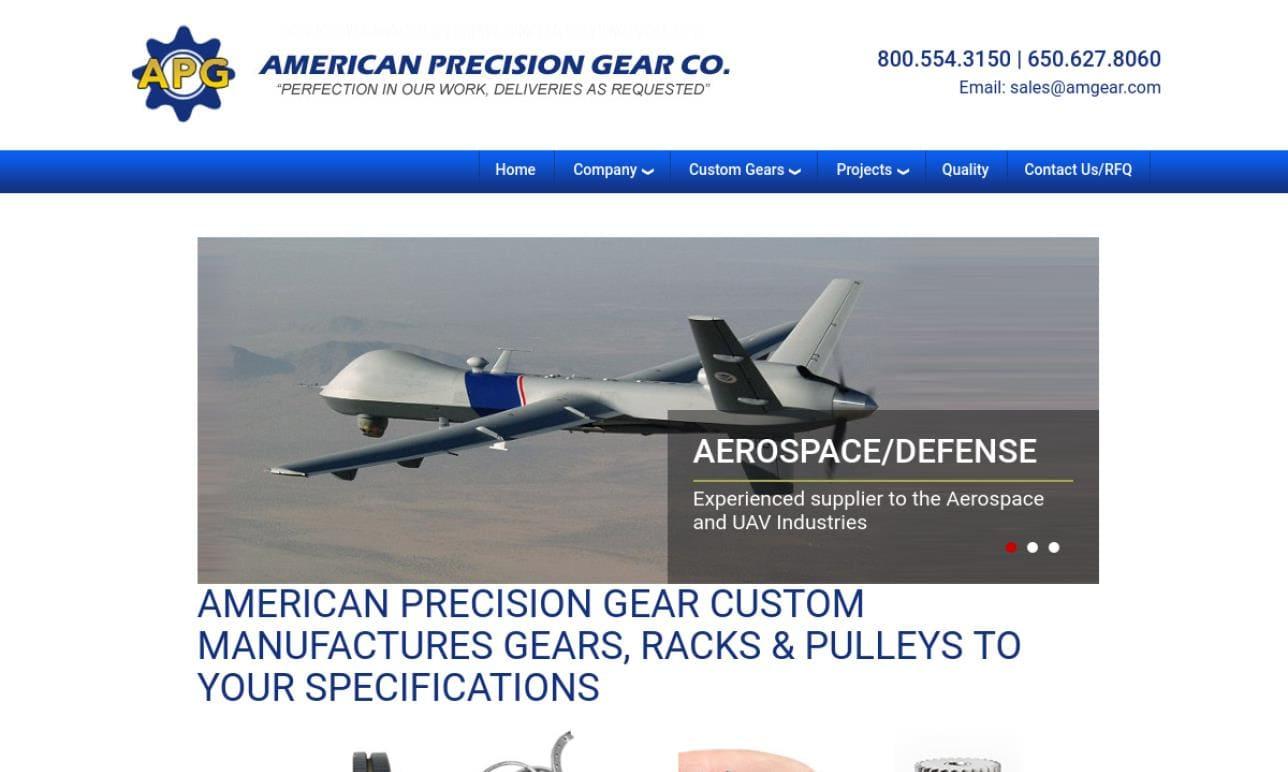American Precision Gear Company, Inc.