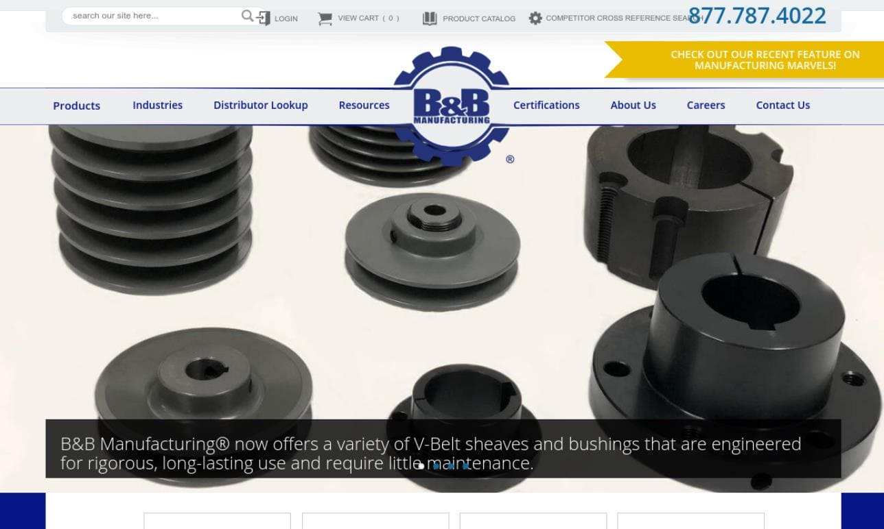B&B Manufacturing, Inc.