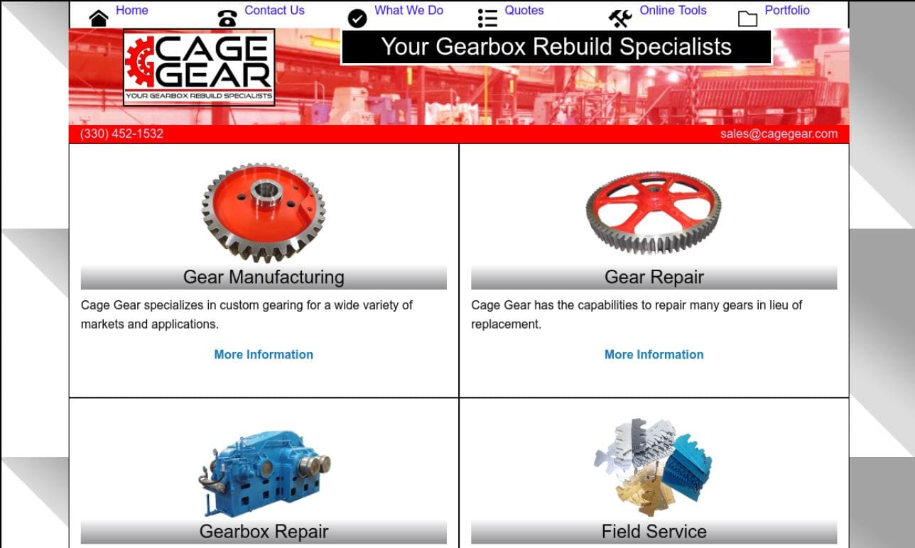 Cage Gear & Machine, LLC