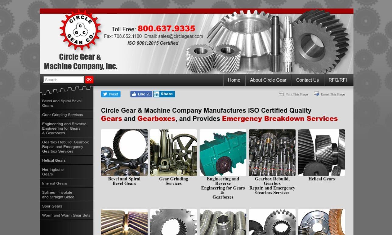 Circle Gear and Machine Company, Inc.
