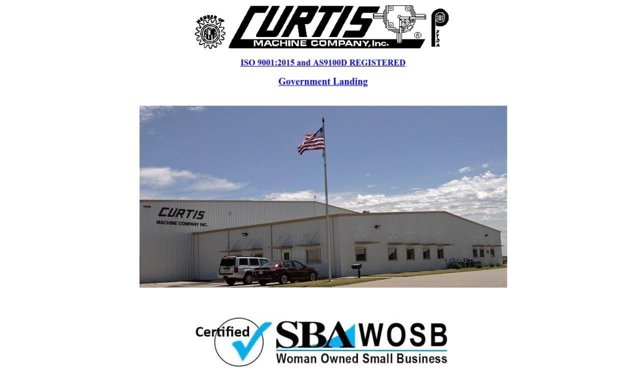 Curtis Machine Company, Inc.