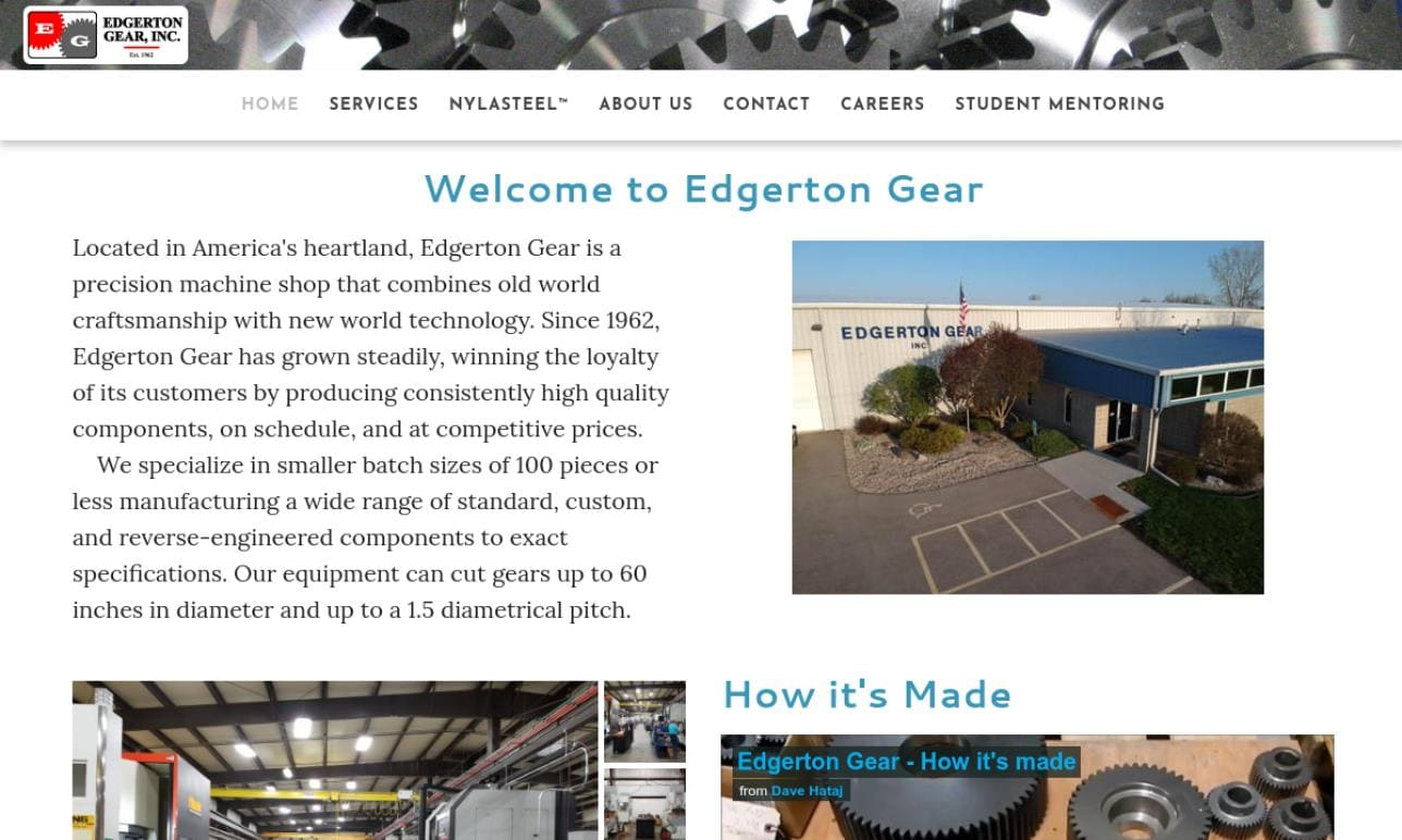 Edgerton Gear, Inc.