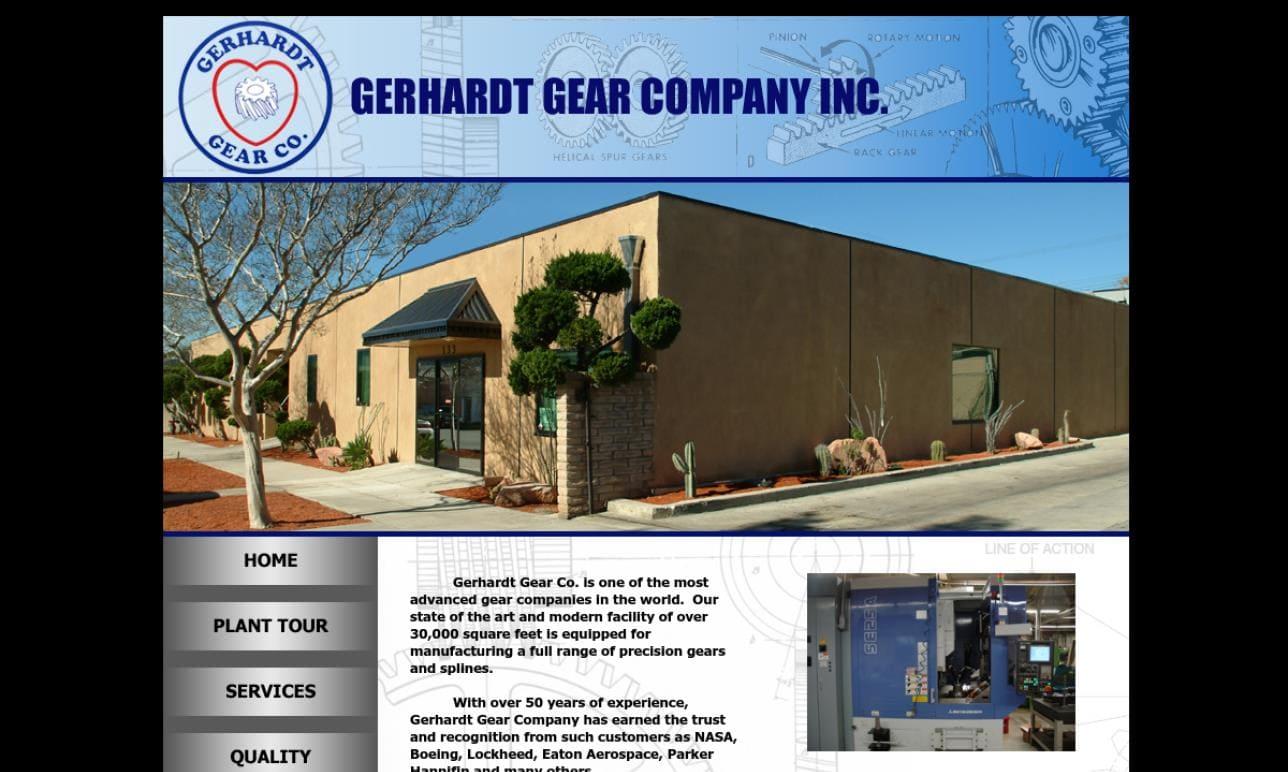 Gerhardt Gear Co., Inc.