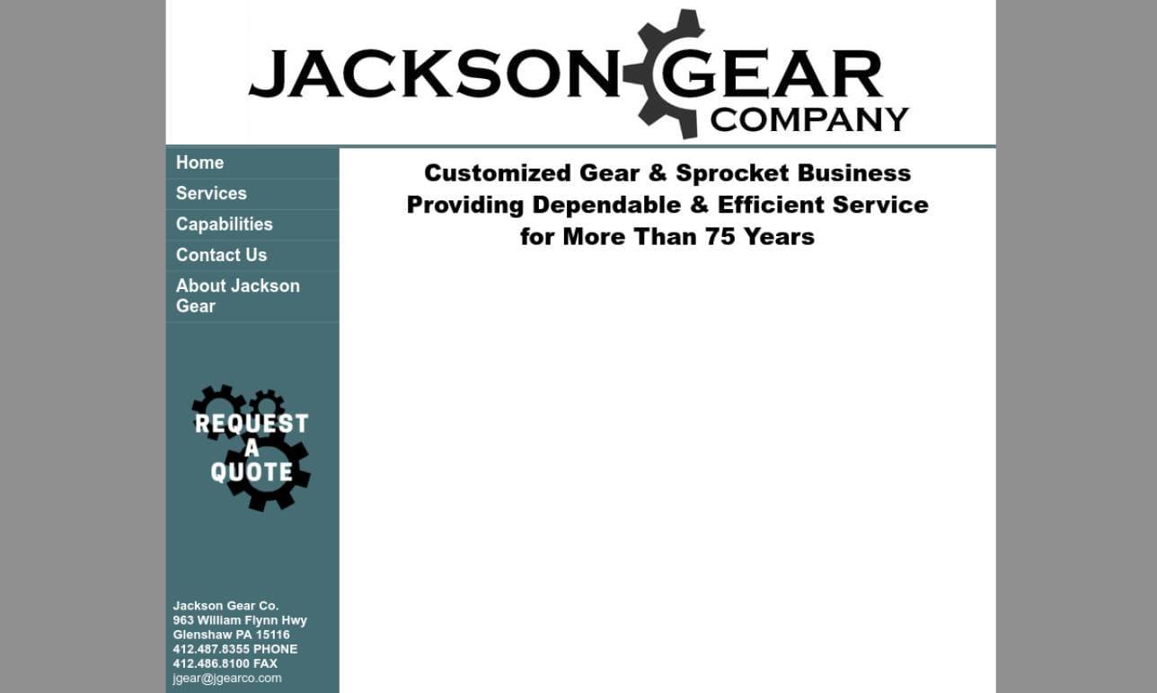 Jackson Gear Company