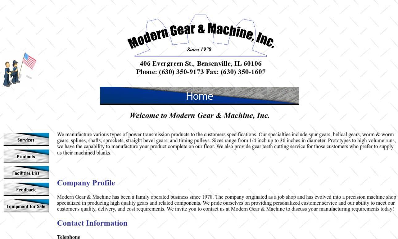 Modern Gear & Machine, Inc.