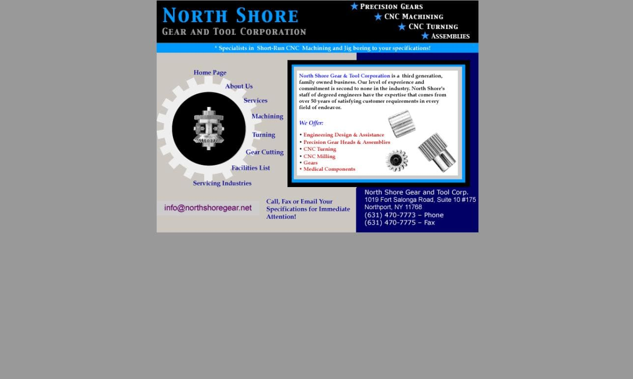 North Shore Gear and Tool Corporation