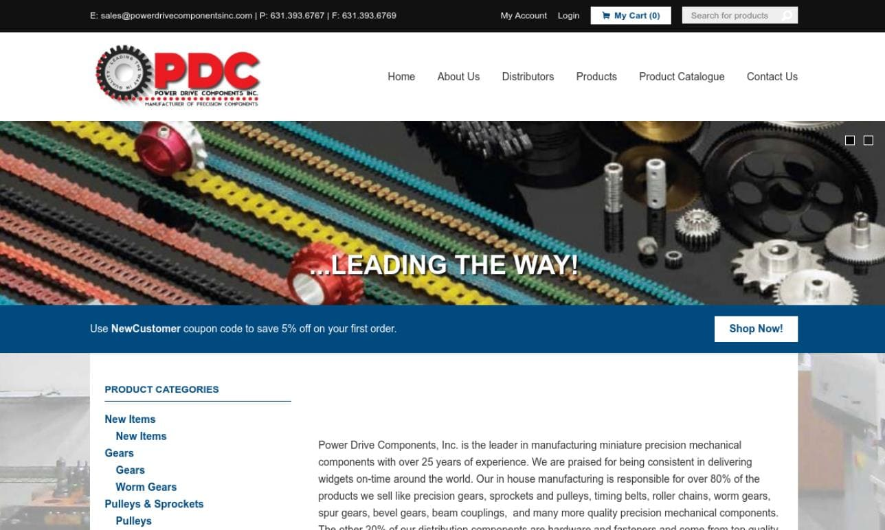 Power Drive Components, Inc.