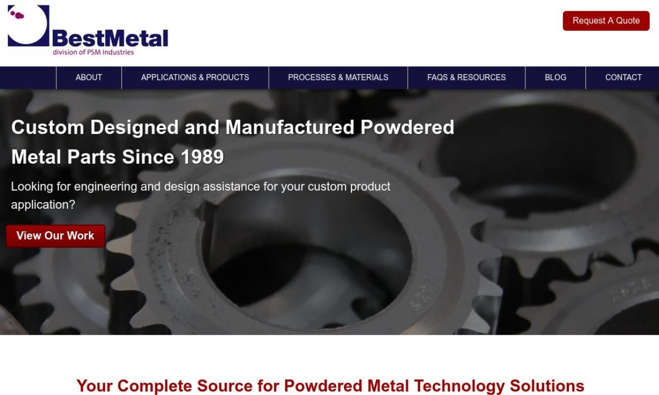 Bestmetal Corporation