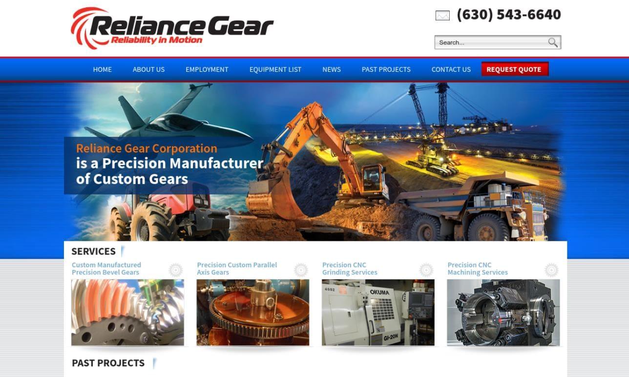 Reliance Gear Corporation