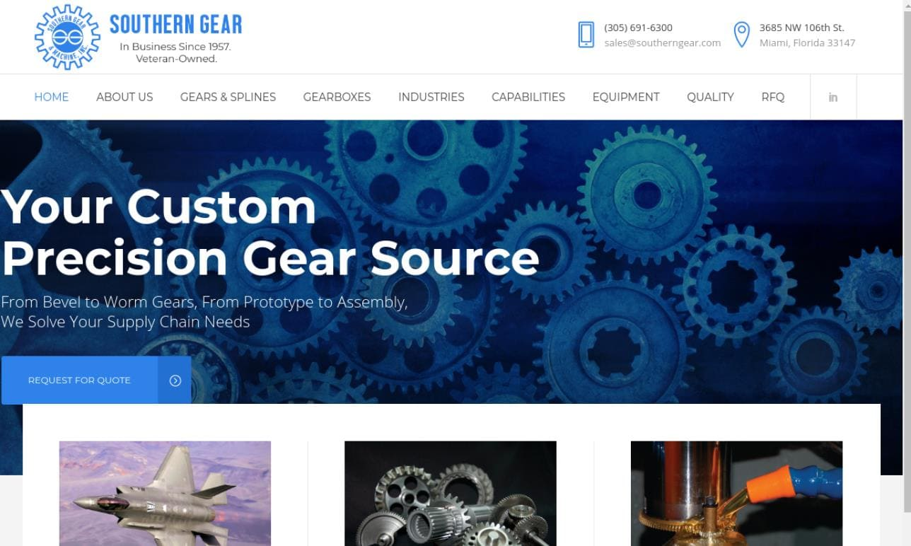 Southern Gear & Machine, Inc.