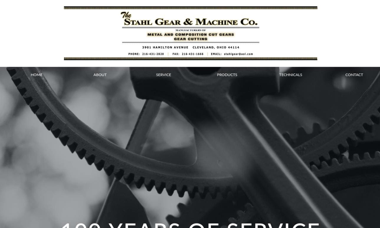 Stahl Gear & Machine Co.