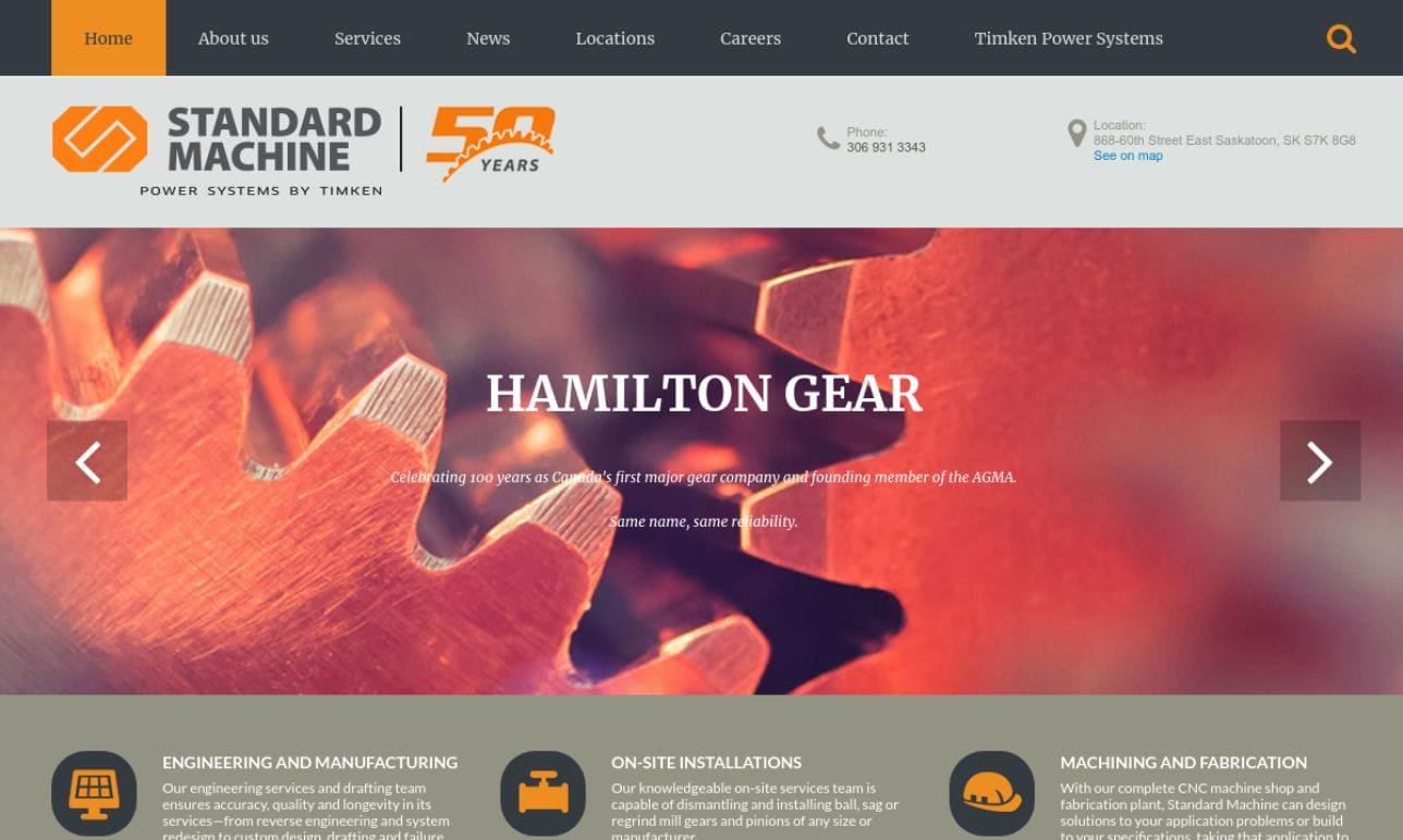Standard Machine & Hamilton Gear Ltd.