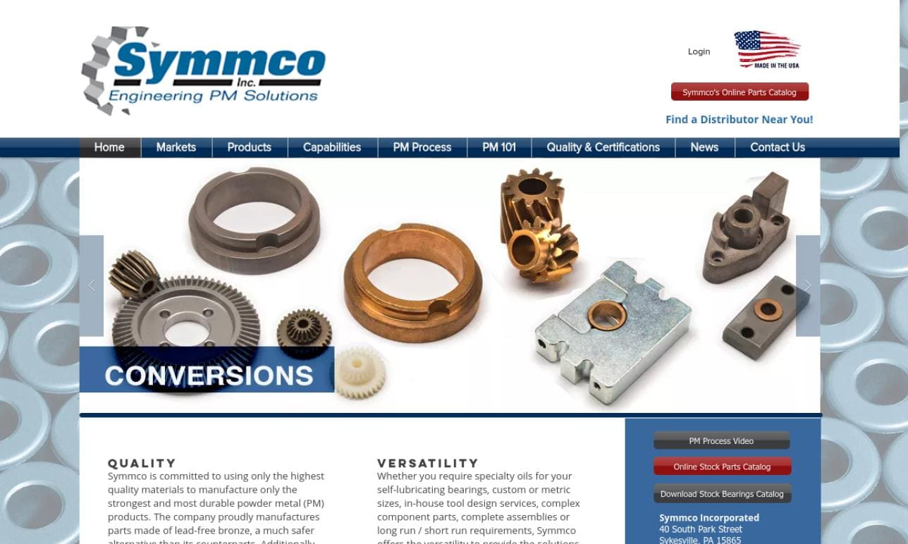 Symmco Incorporated