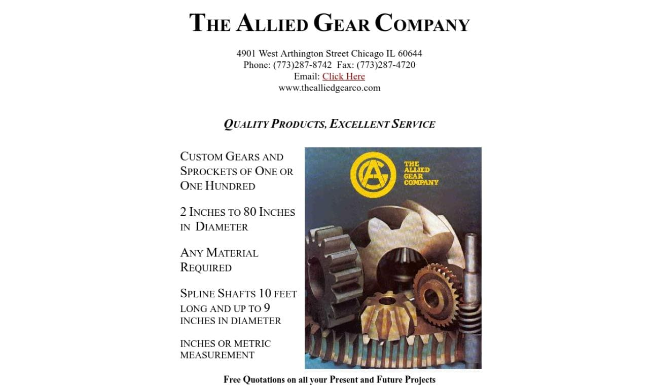 The Allied Gear Company