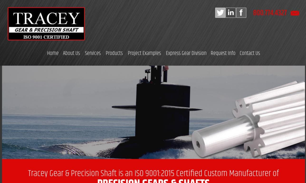 Tracey Gear & Precision Shaft