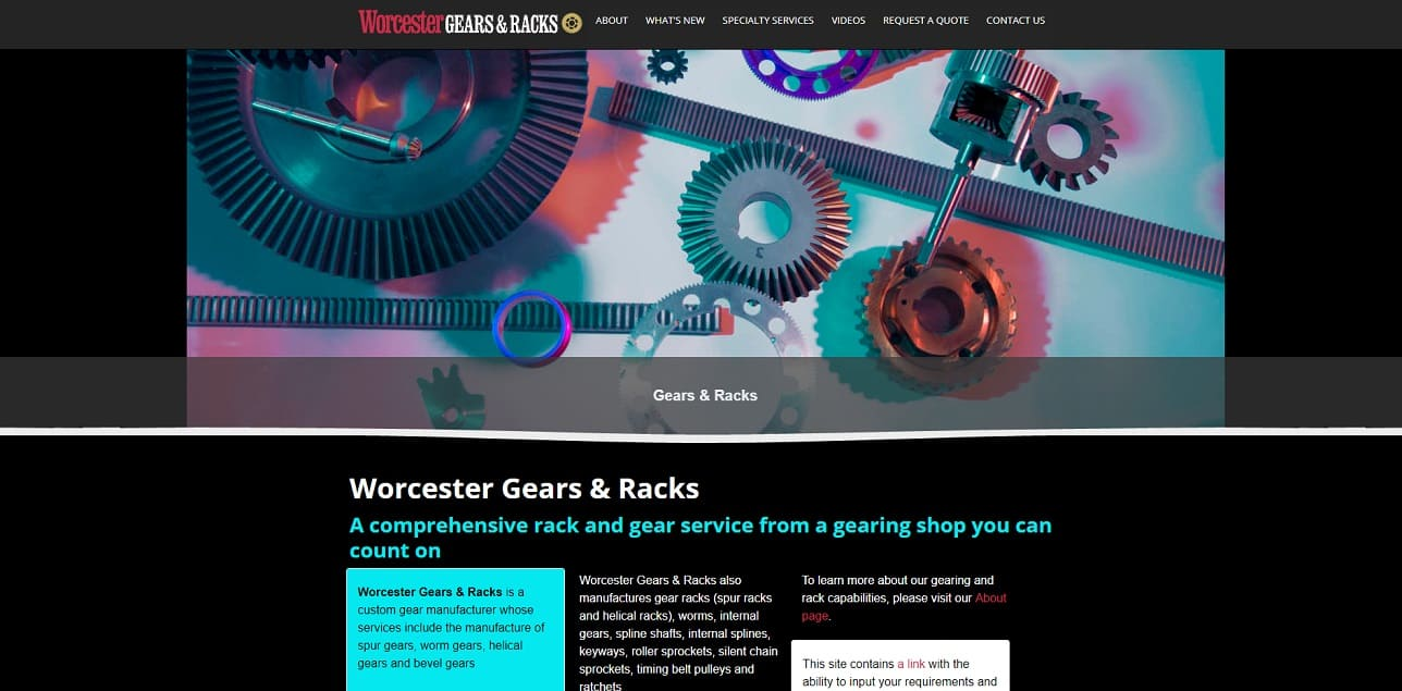 Worcester Gears & Racks, Inc.