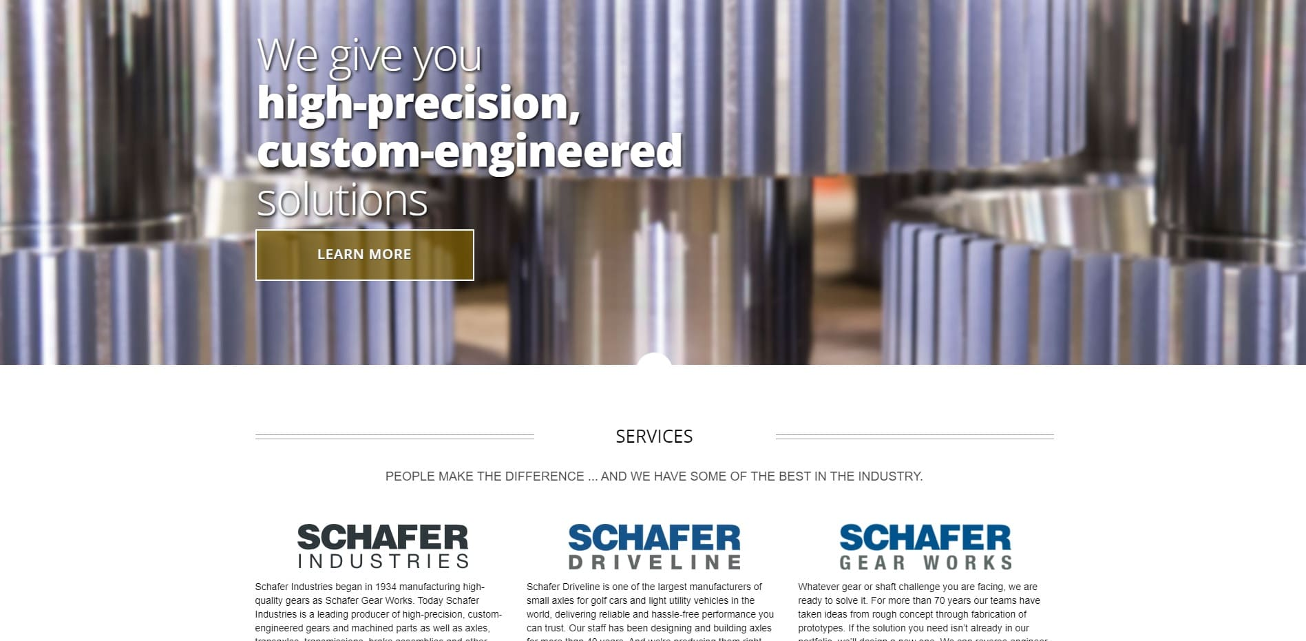 Schafer Gear Works, Inc.