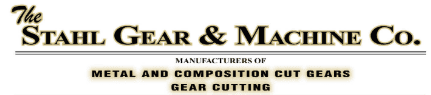 Stahl Gear & Machine Co. Logo