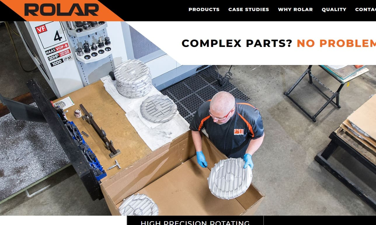 Rolar Products, Inc.